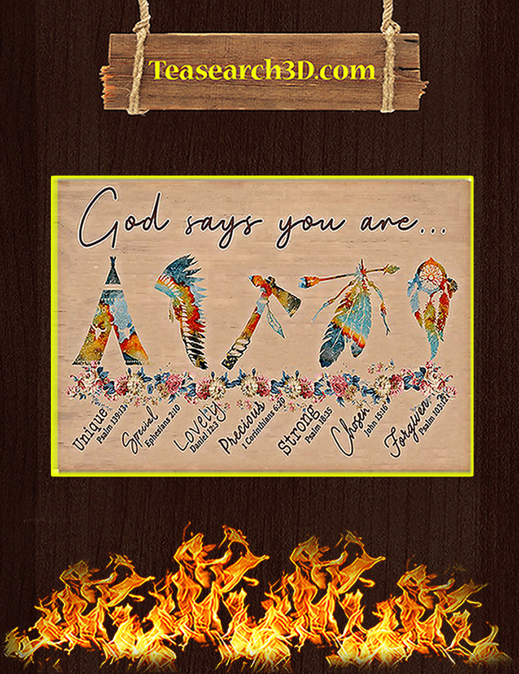 Native god says you are poster A1