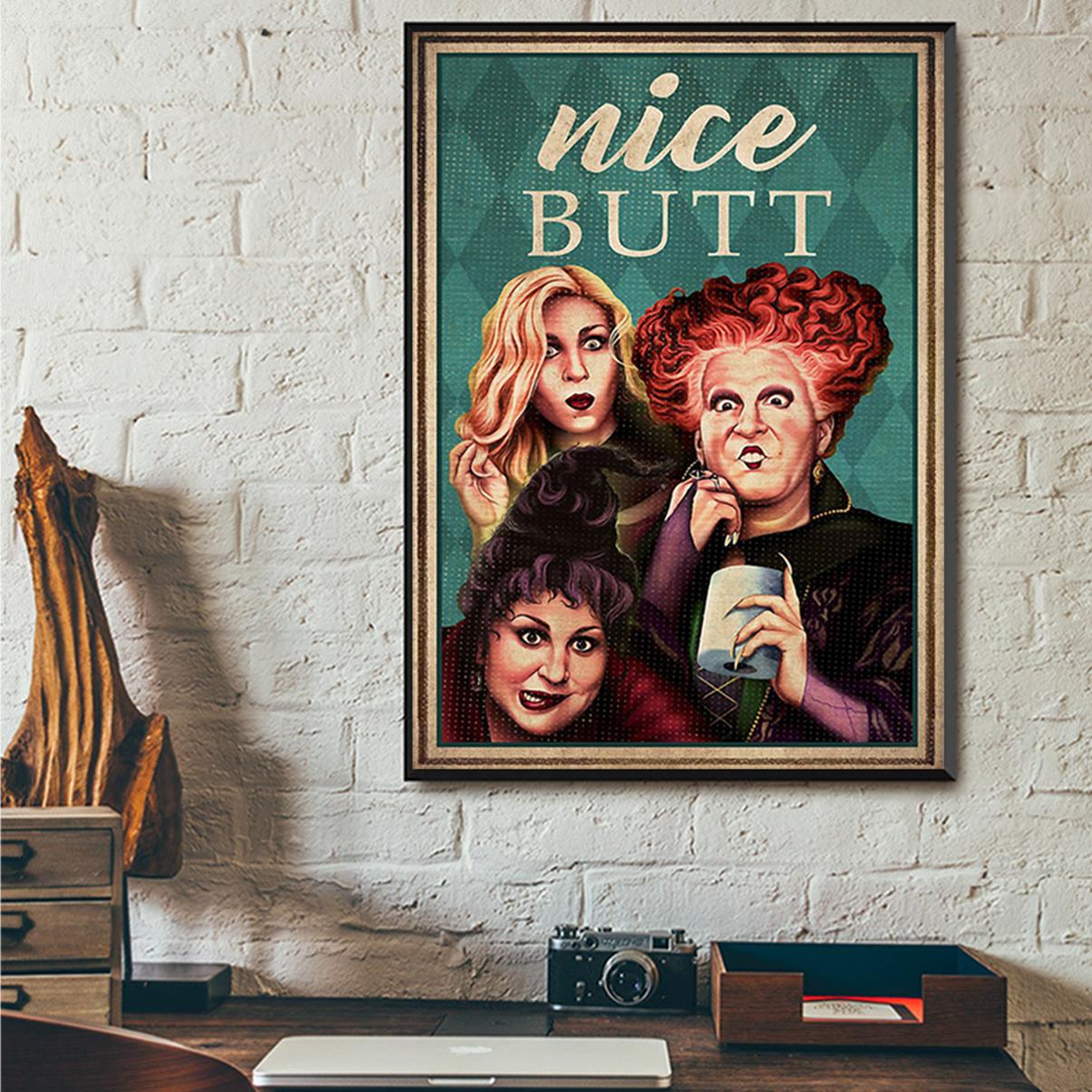 Hocus pocus nice butt poster A1
