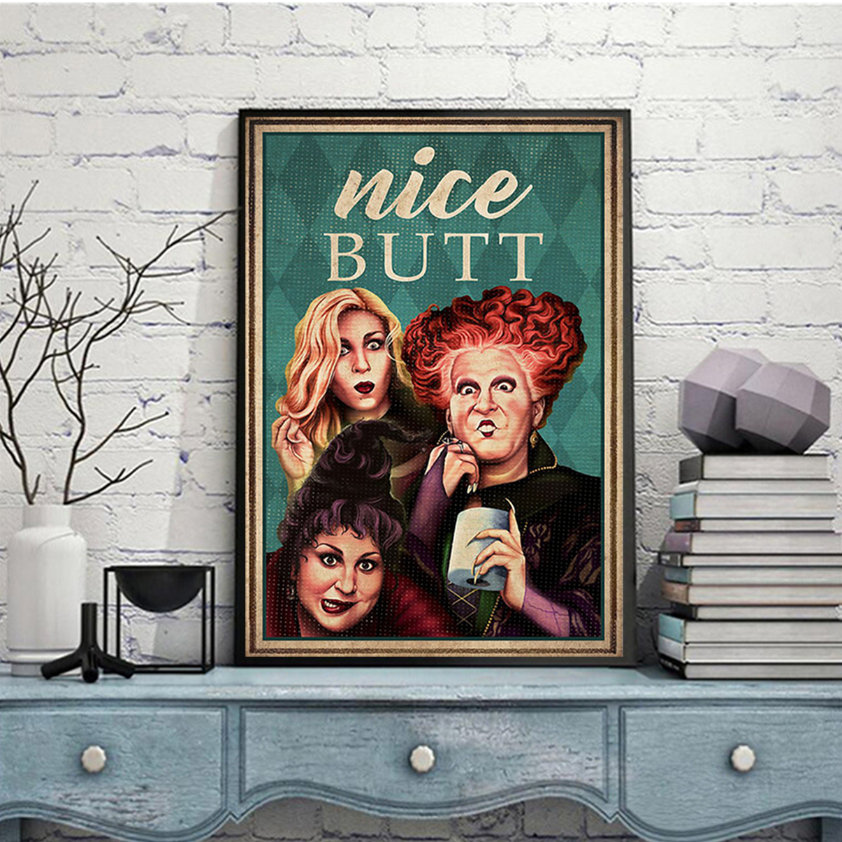 Hocus pocus nice butt poster A2