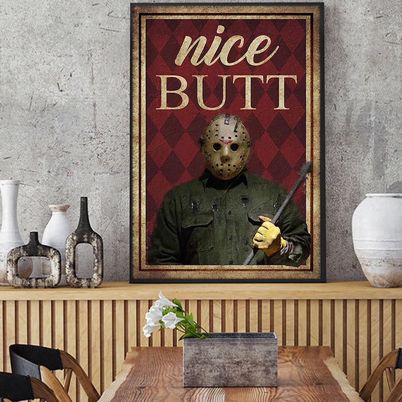 Horror Jason Voorhees nice butt poster A1