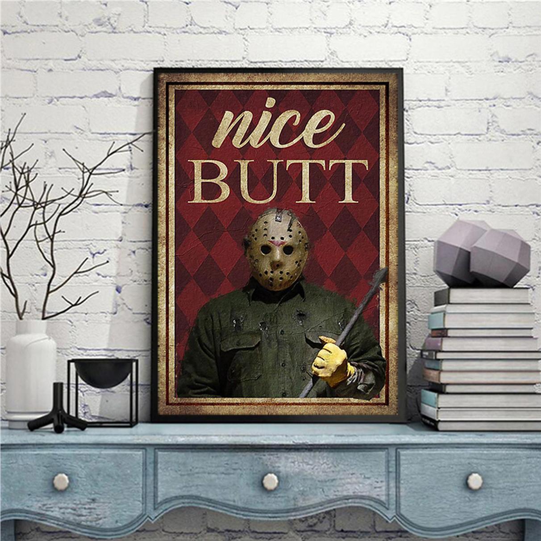 Horror Jason Voorhees nice butt poster A2