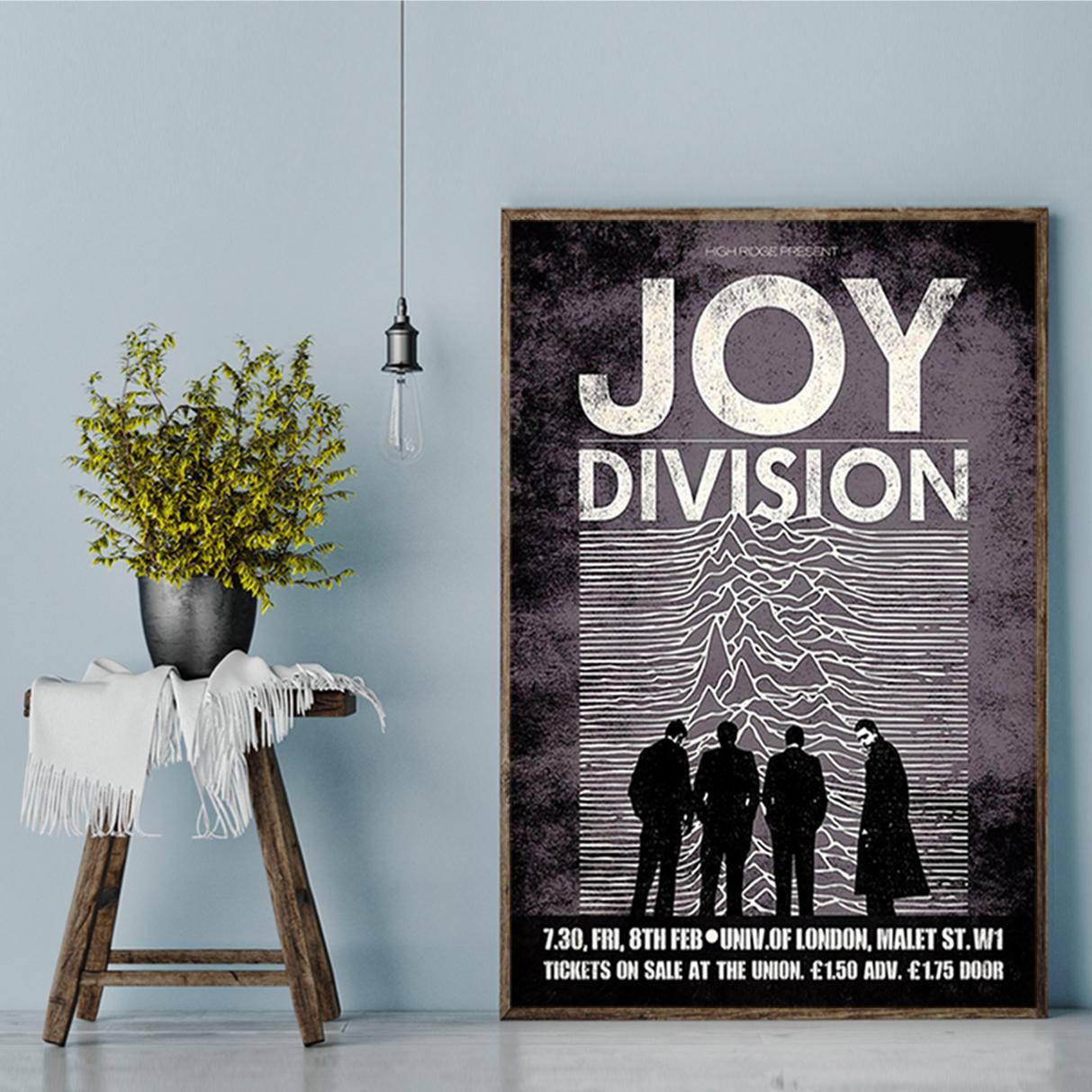 Joy division unknown pleasures poster A2