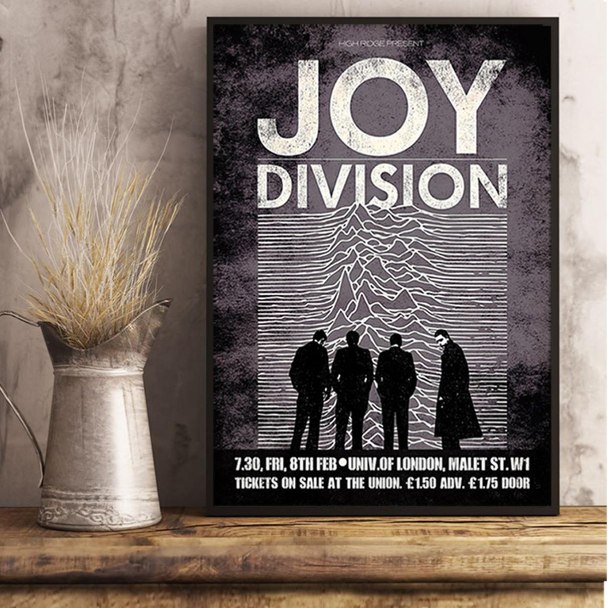 Joy division unknown pleasures poster A3