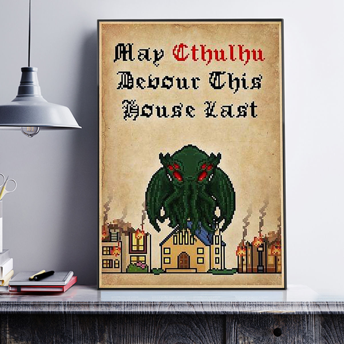 May cthulhu devour this house last poster A1