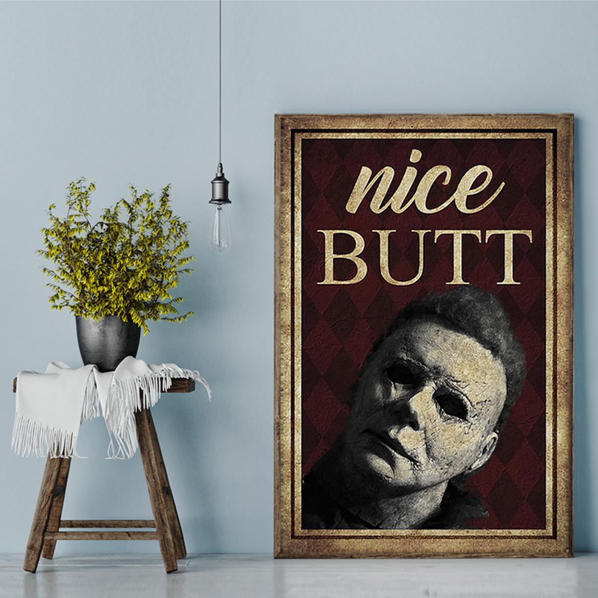 Michael Myers nice butt poster A2