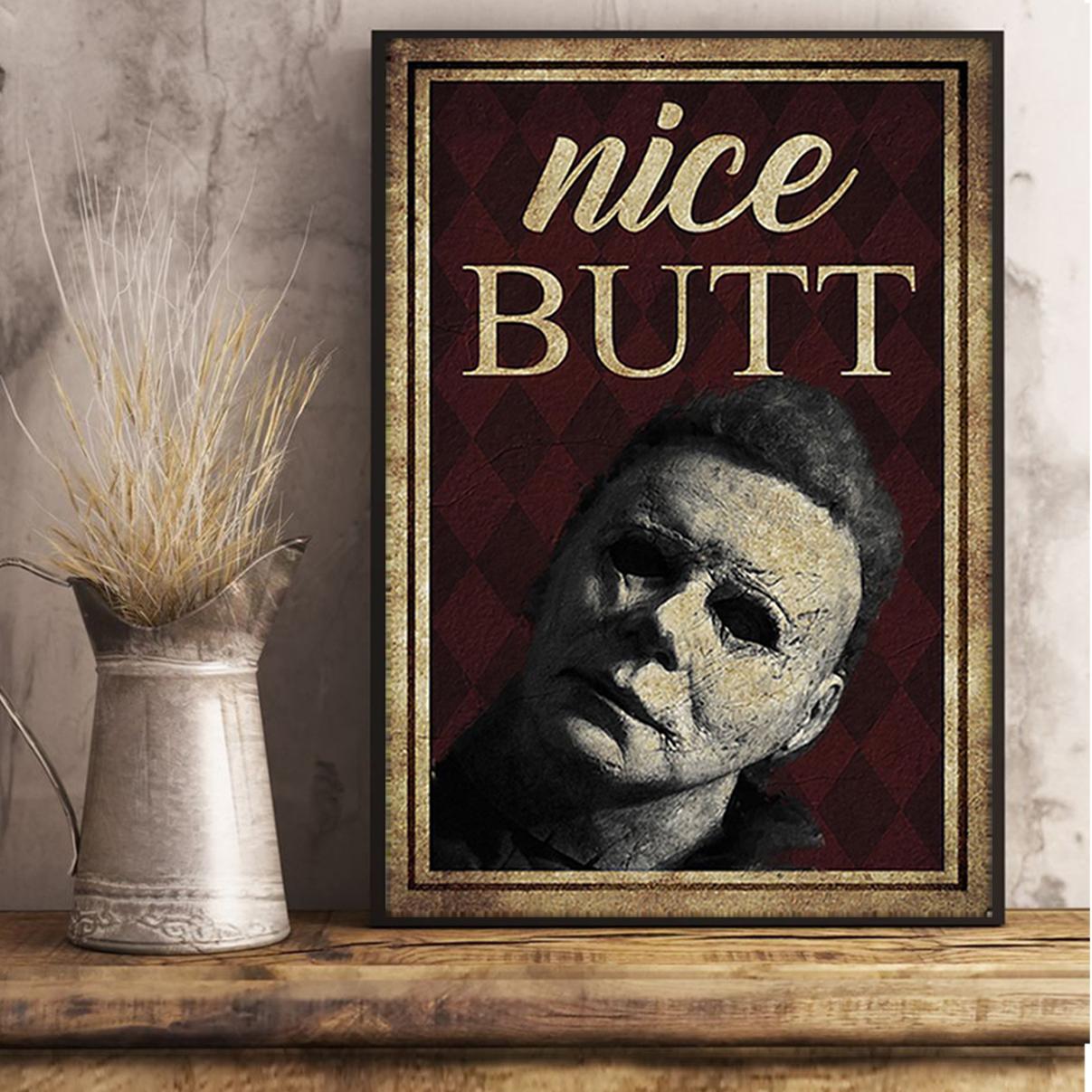 Michael Myers nice butt poster A3