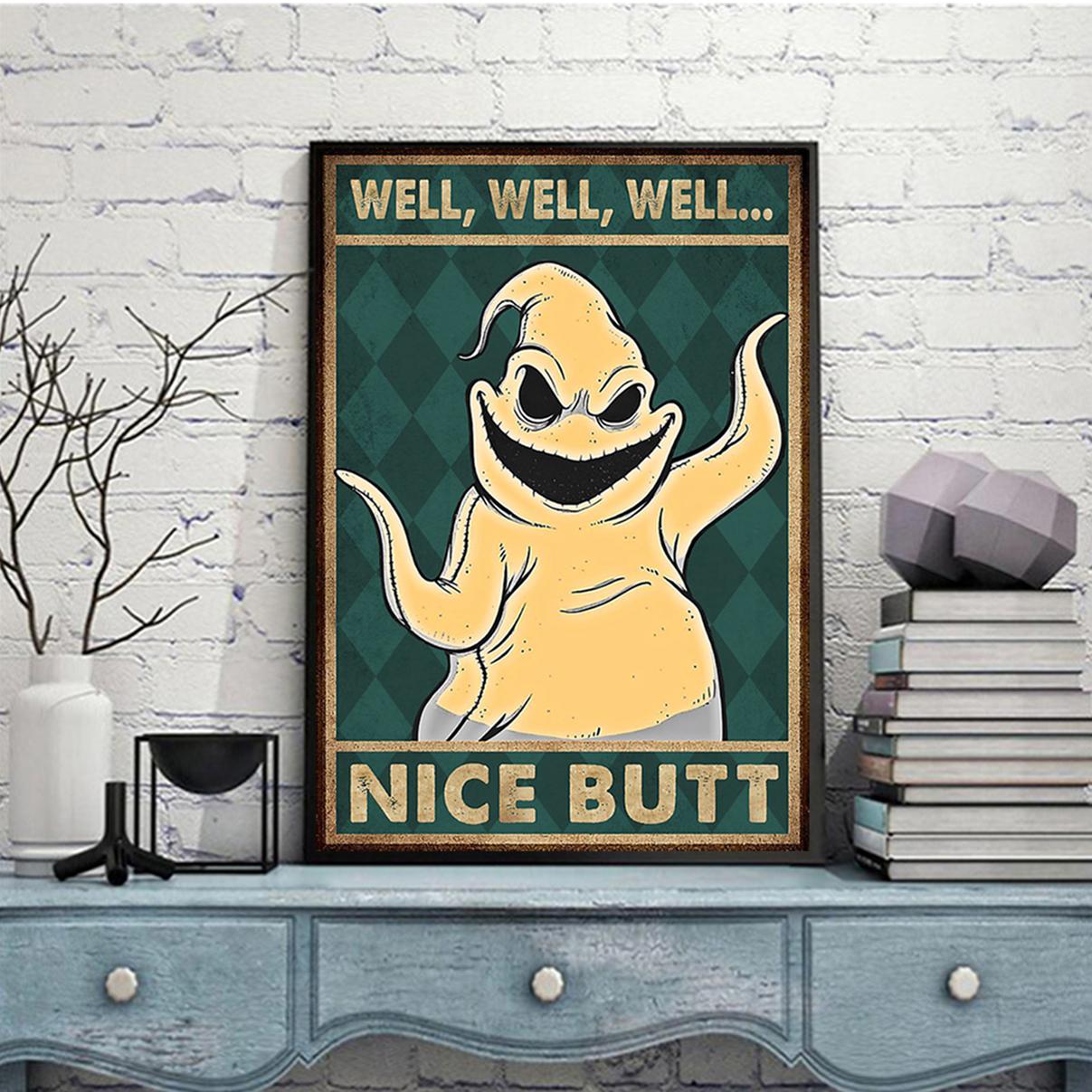 Oogie boogie nice butt poster A1