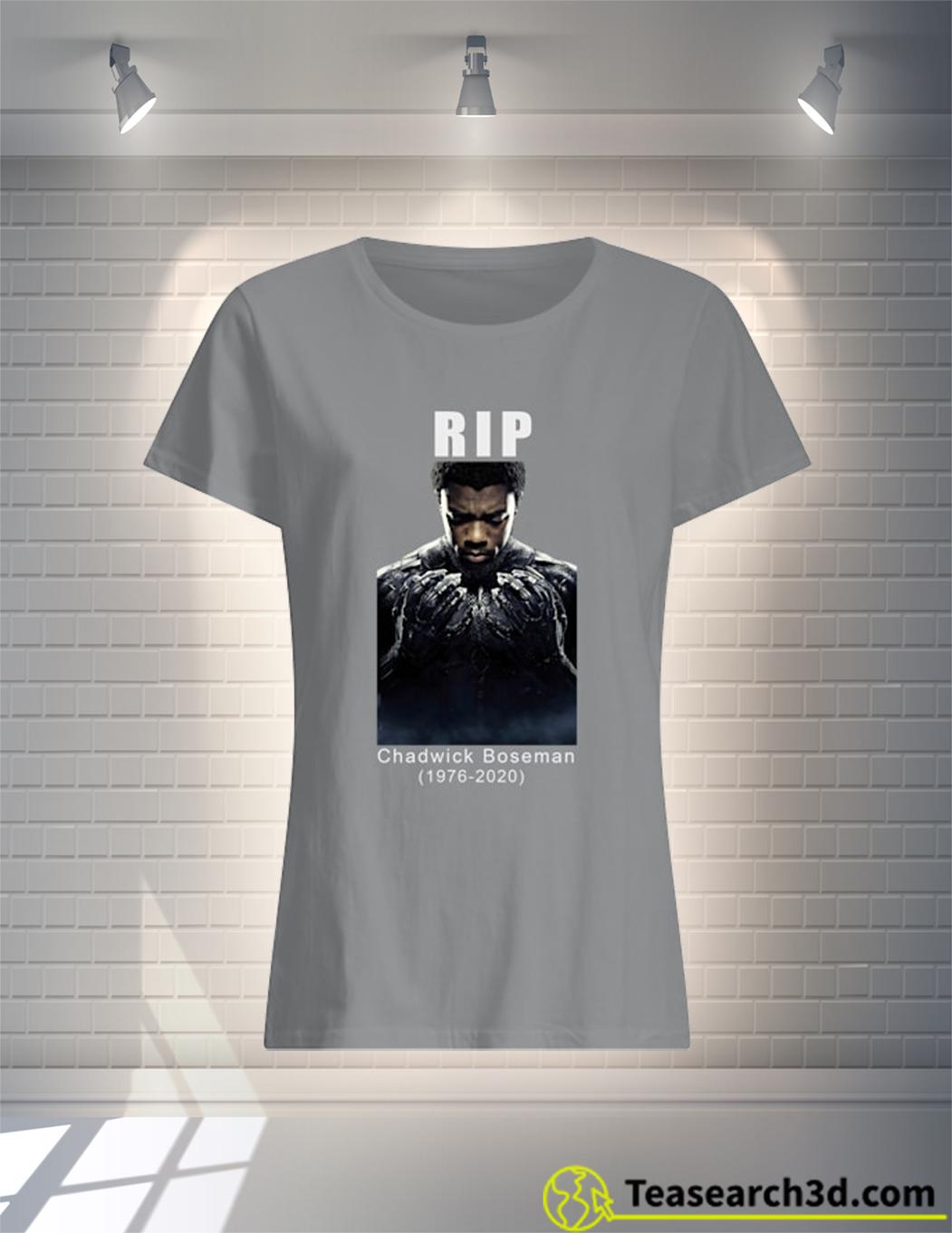 Rip Chadwick boseman 1976 2020 t-shirt