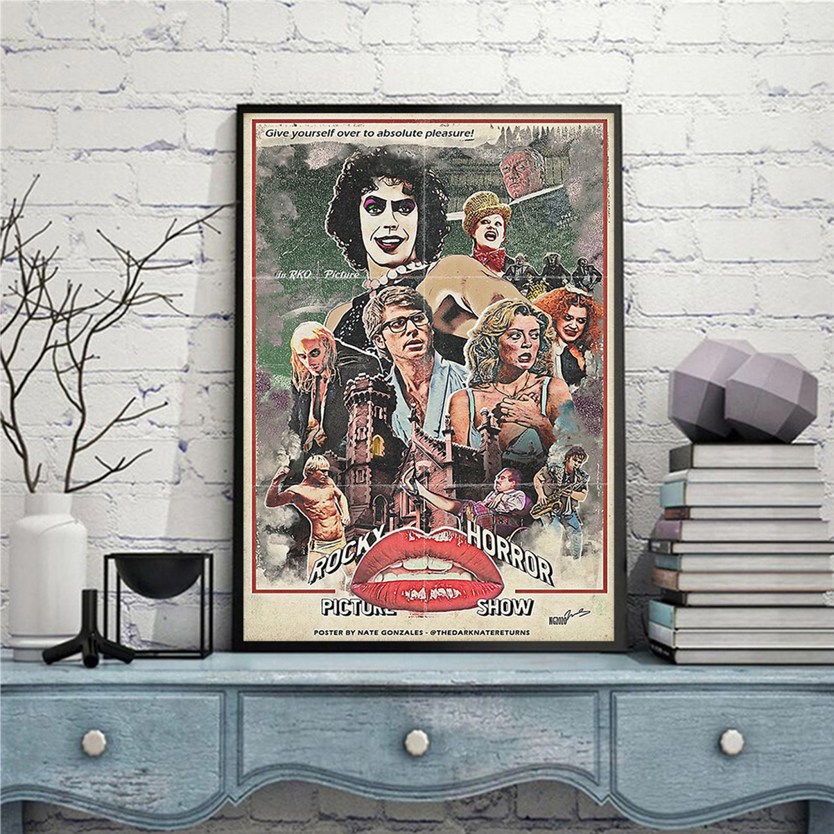 Rocky horror picture show poster A2