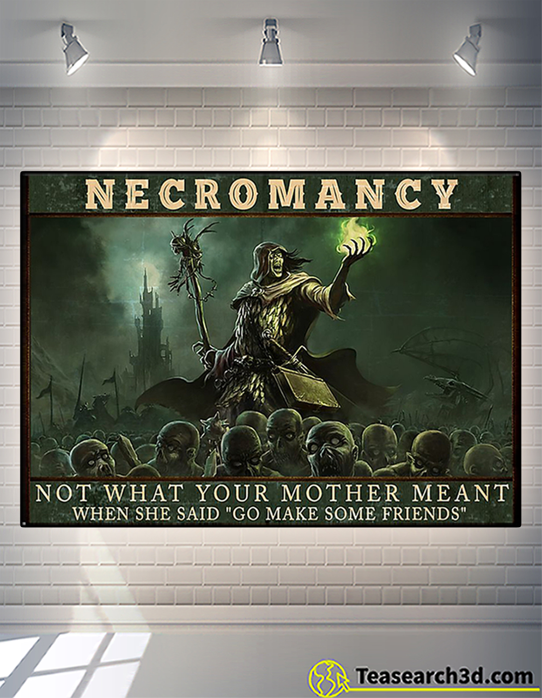 Necromancy not what your mother meant poster A2