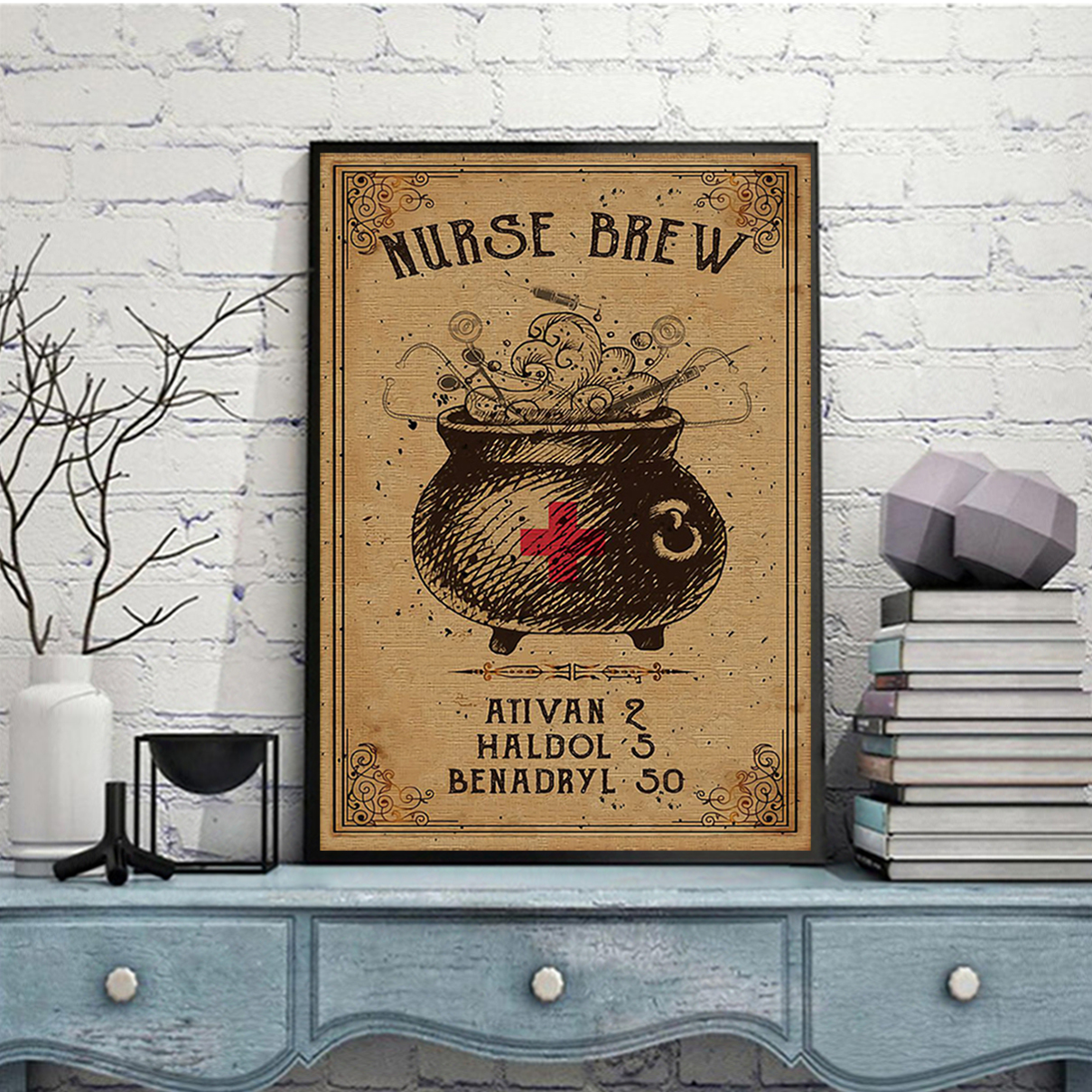 Nurse brew poster A1