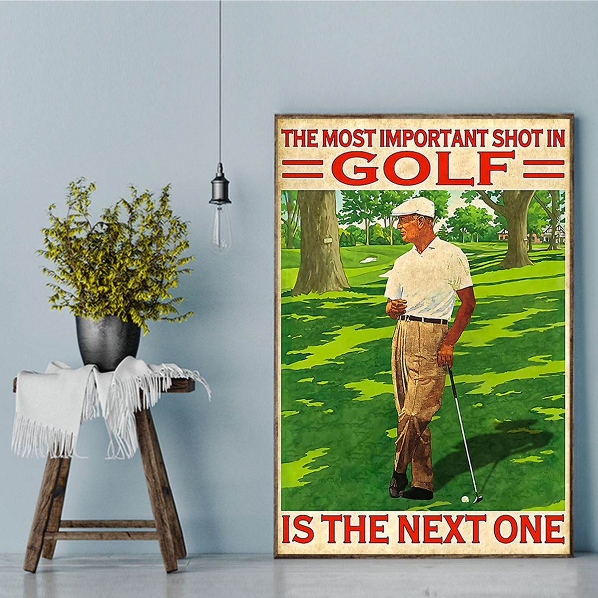 Poster the most important shot in golf A1