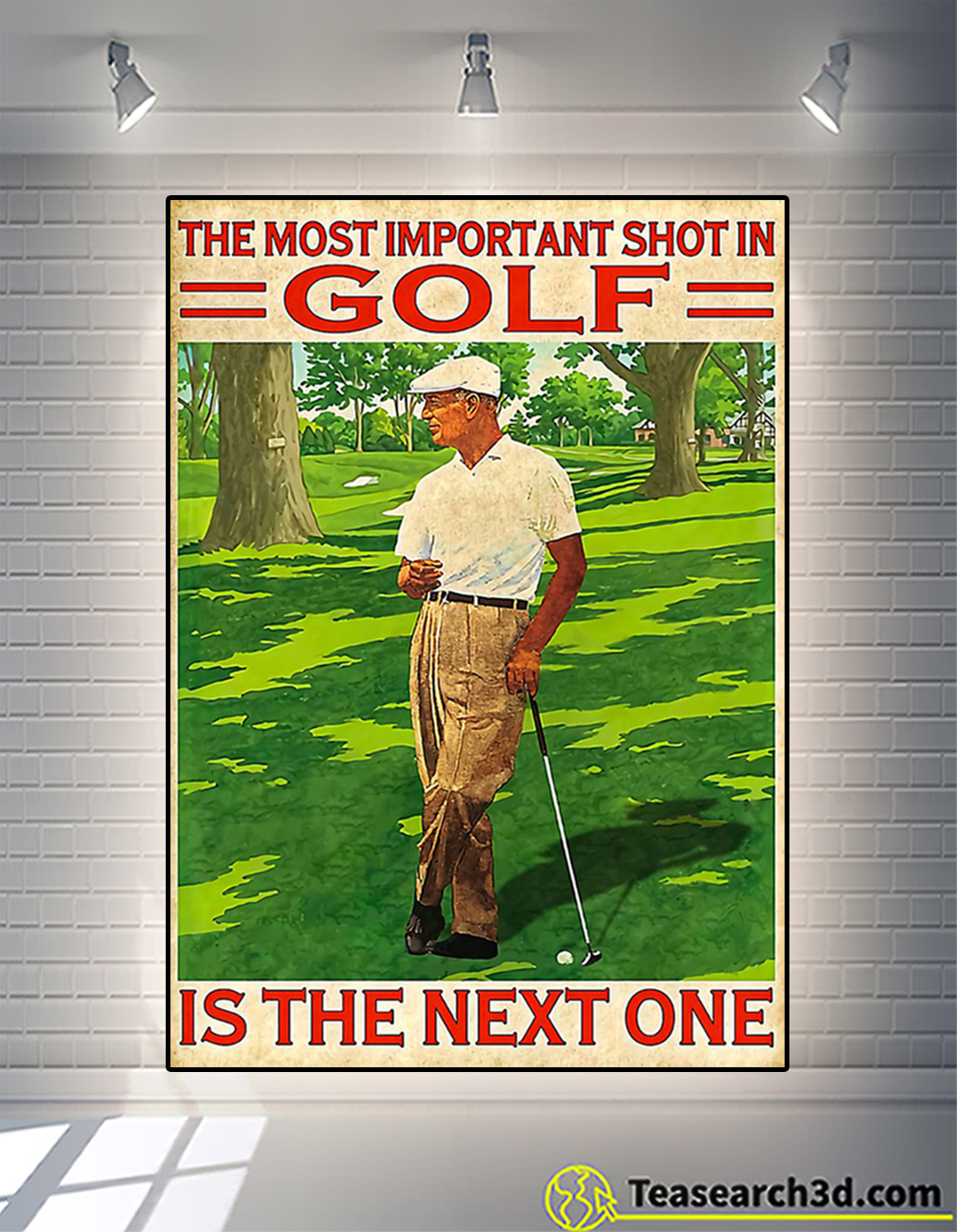 Poster the most important shot in golf