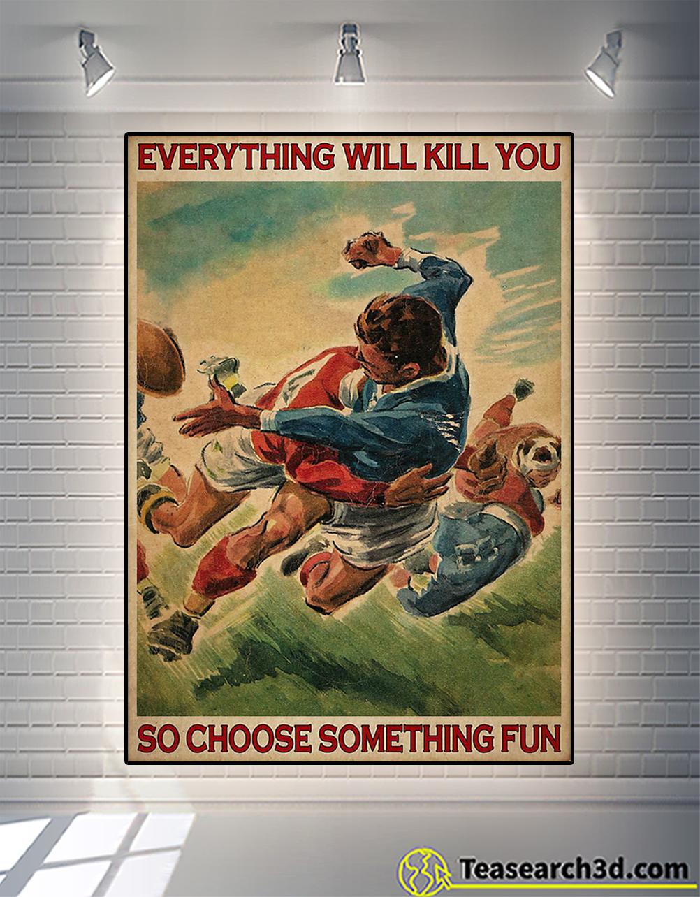 Rugby choose something fun poster