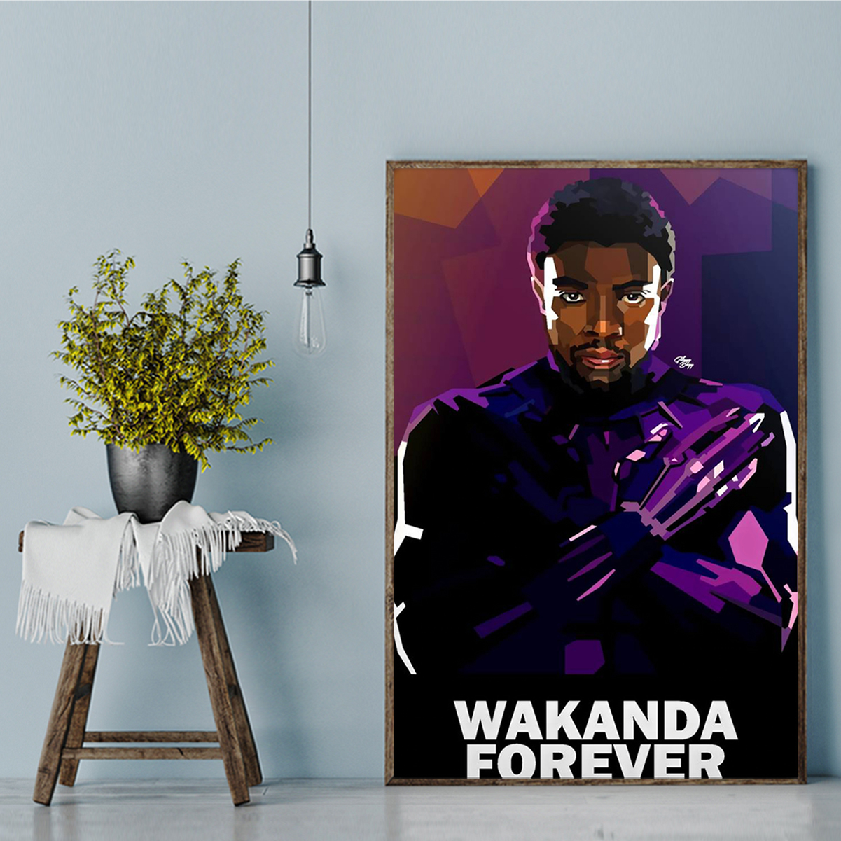 Wakanda forever poster A1
