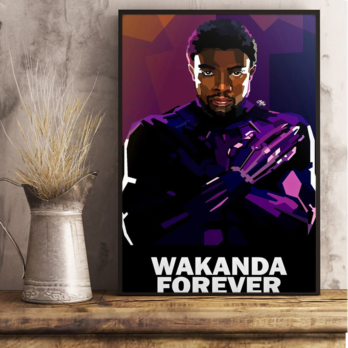 Wakanda forever poster A2
