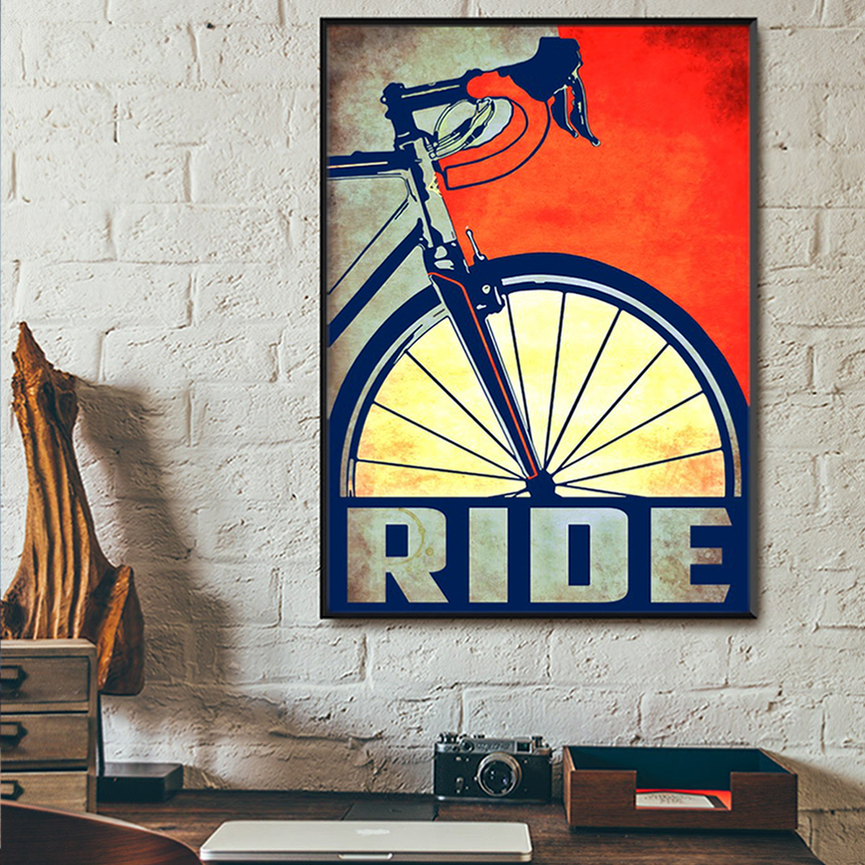 Bicycle ride poster A1