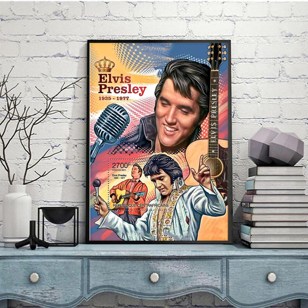 Evis presley king of RnR poster A1