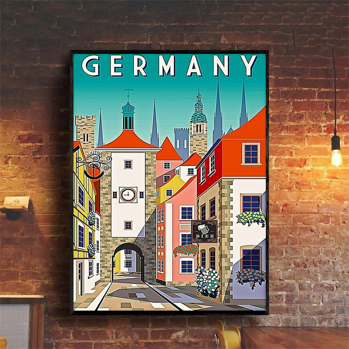 Germany poster A2