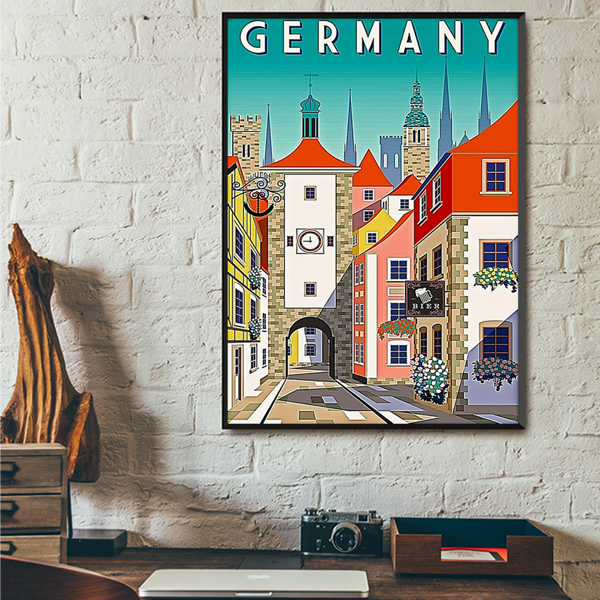 Germany poster A3