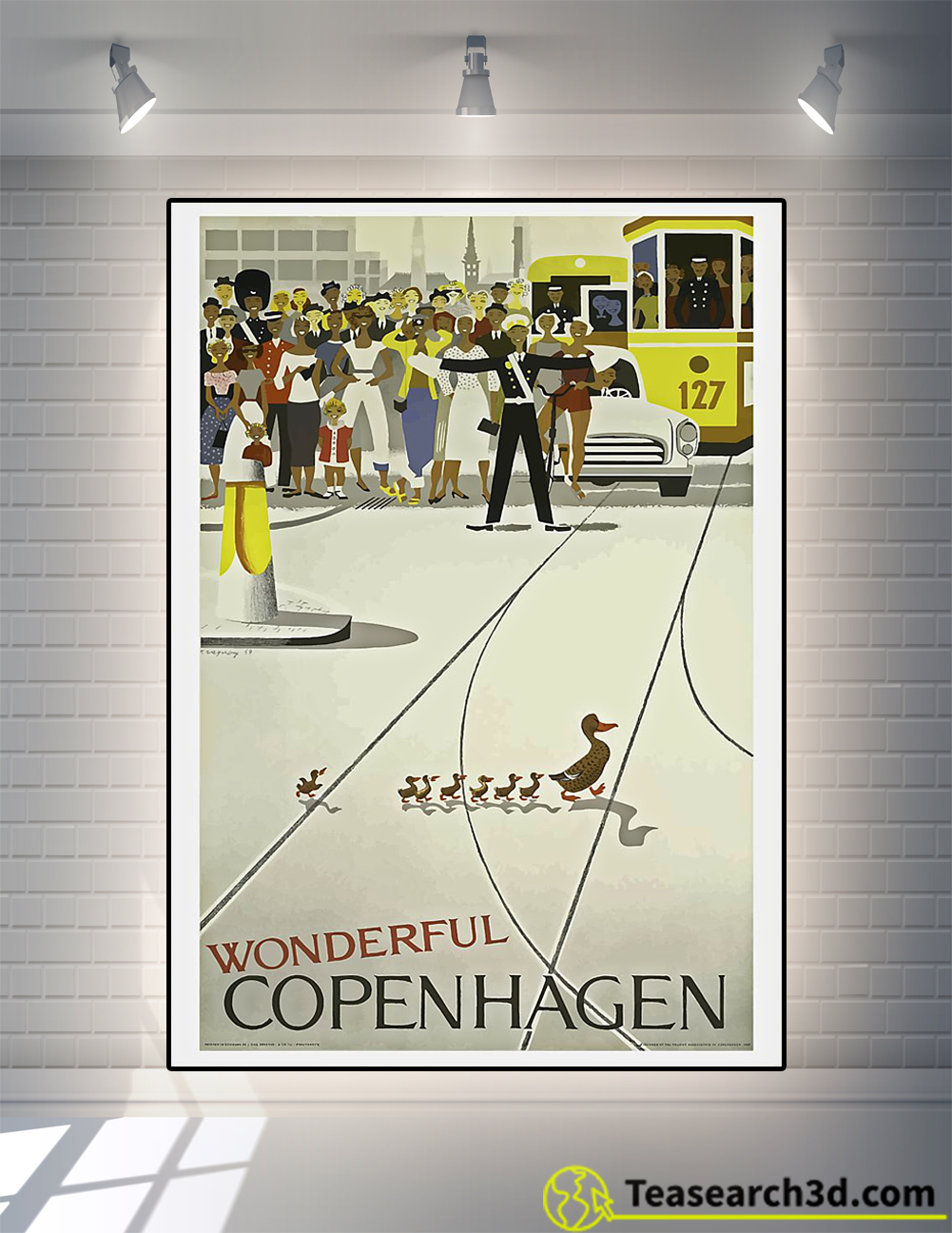Vintage Wonderful copenhagen poster