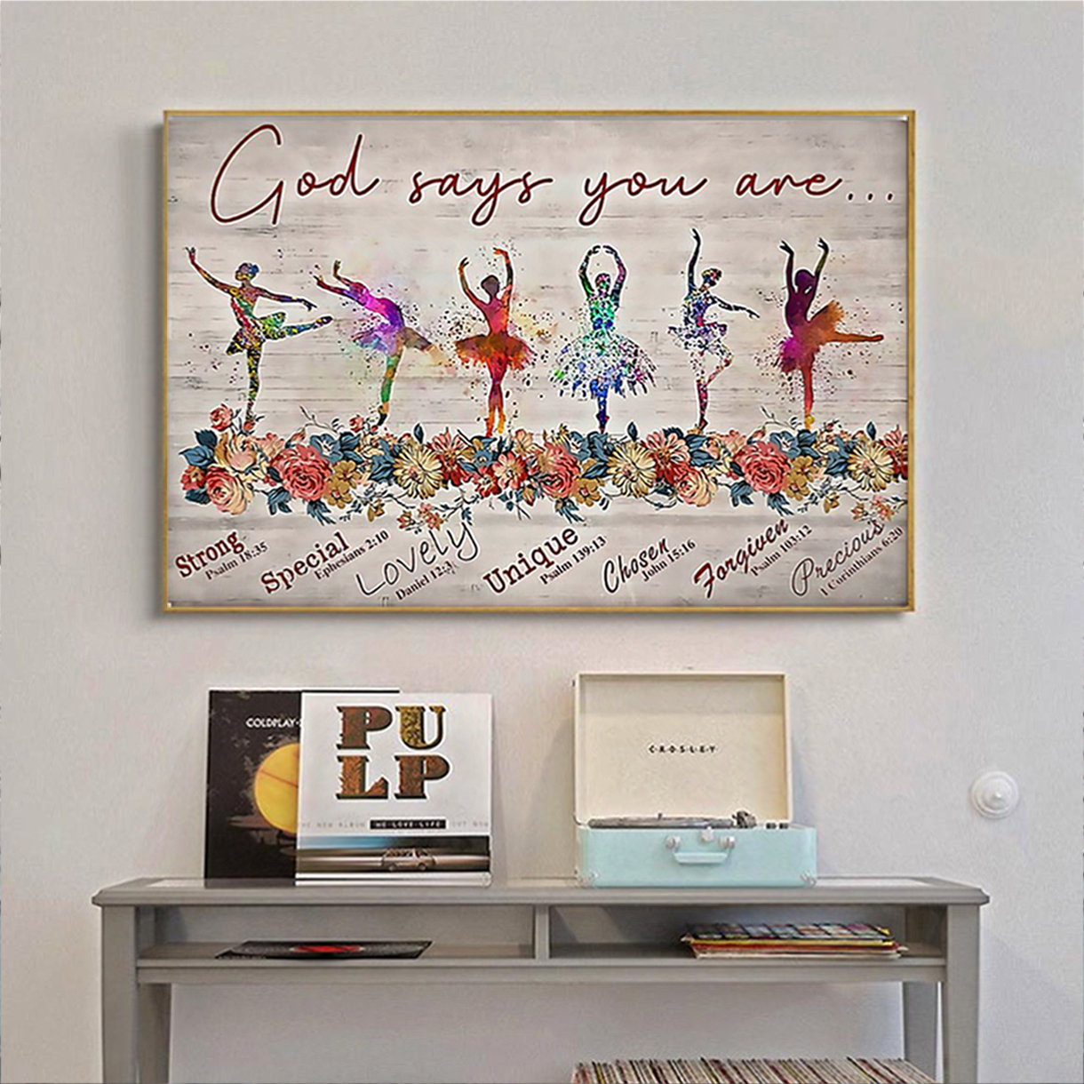 Ballet god says you are poster A1