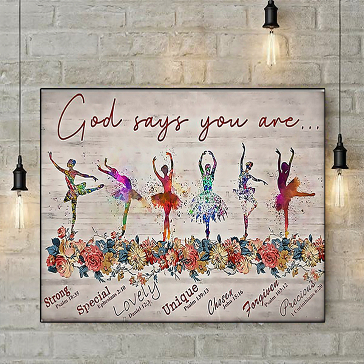 Ballet god says you are poster A2