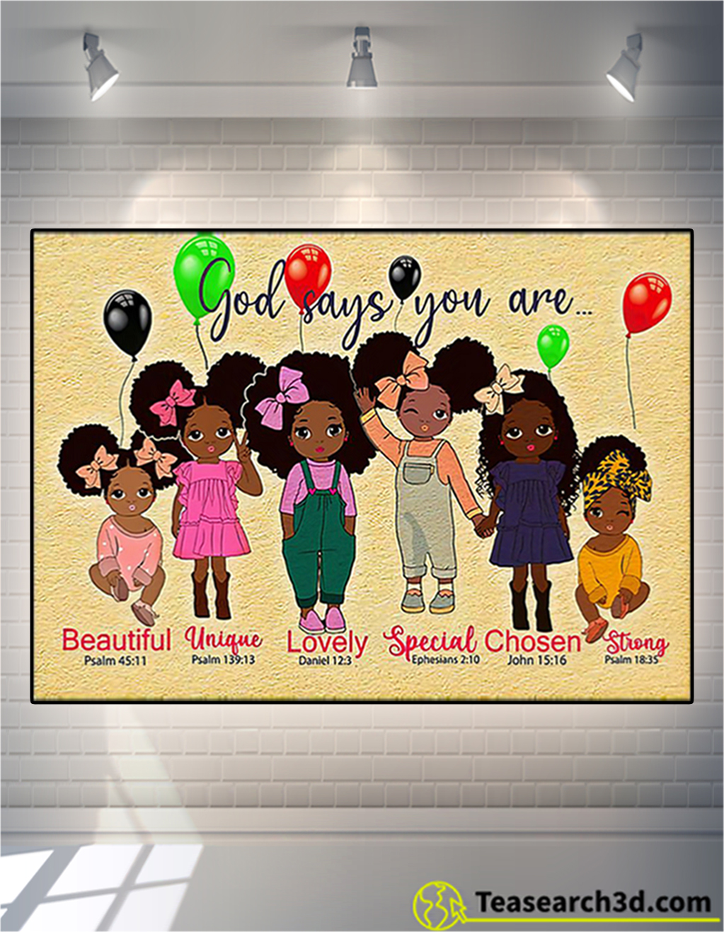 Black girl godchild says you are poster