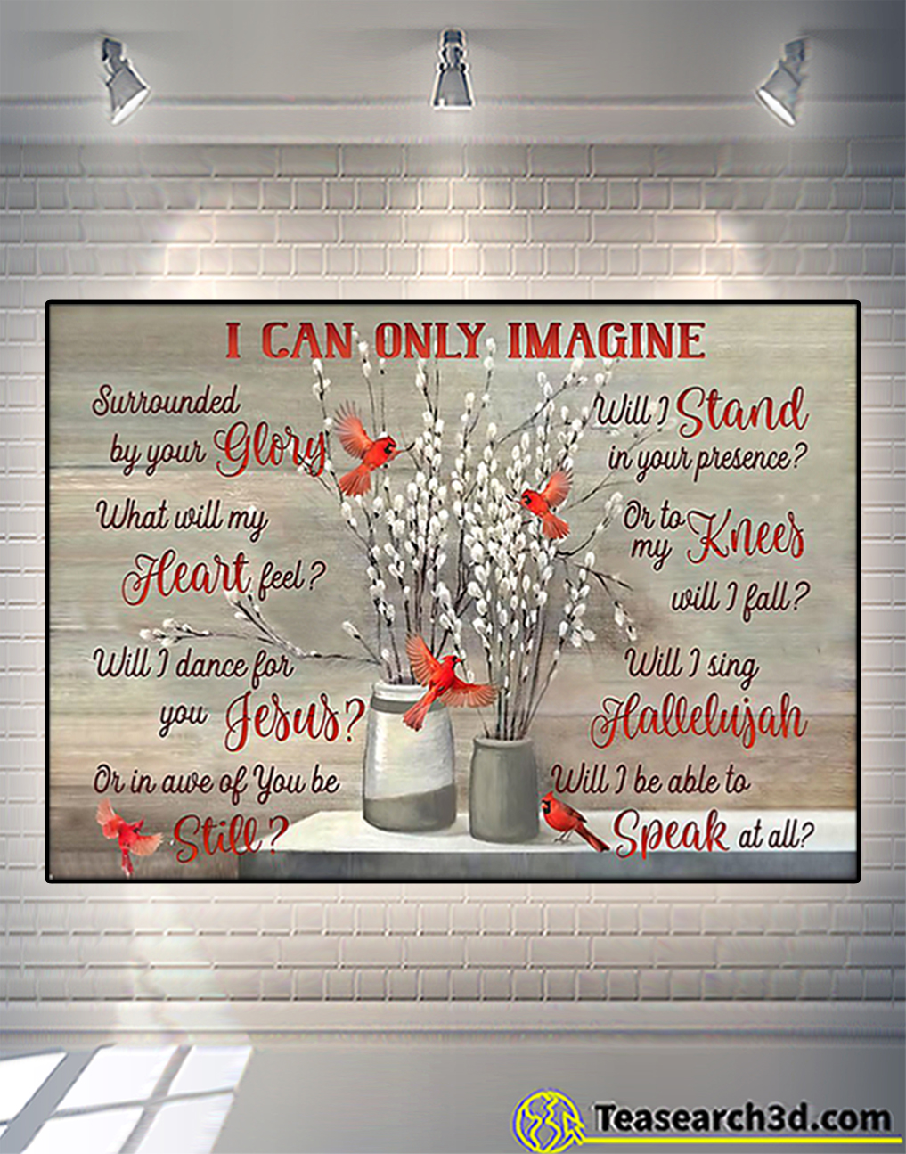 Cardinal I can only image poster