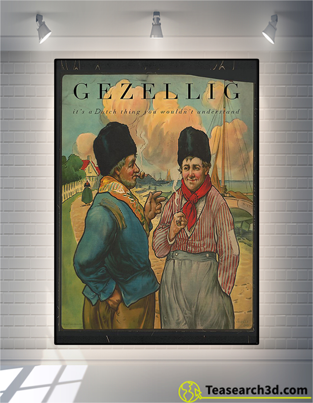 Gezellig it's a dutch thing you wouldn't understand poster