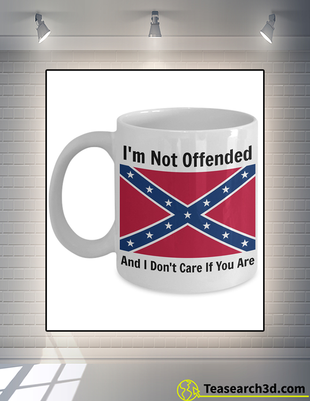 I not offended and I don't care if you are mug front