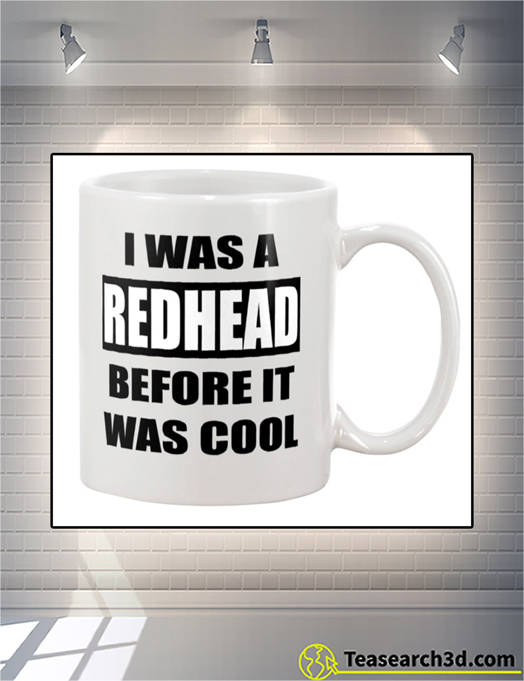 I was a red head before it was cool mug front