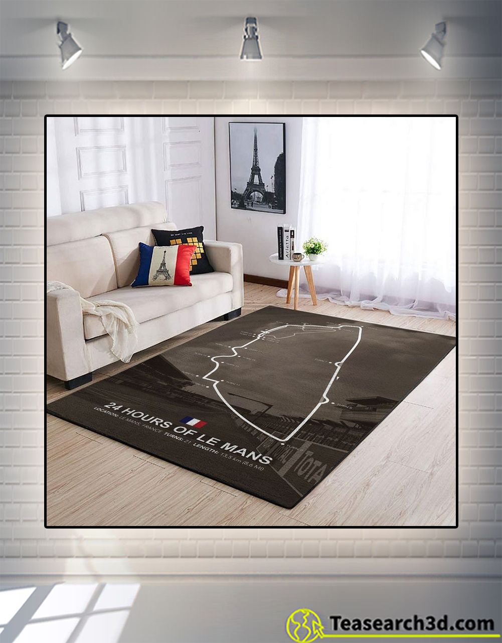 24 hours of le mans rug medium
