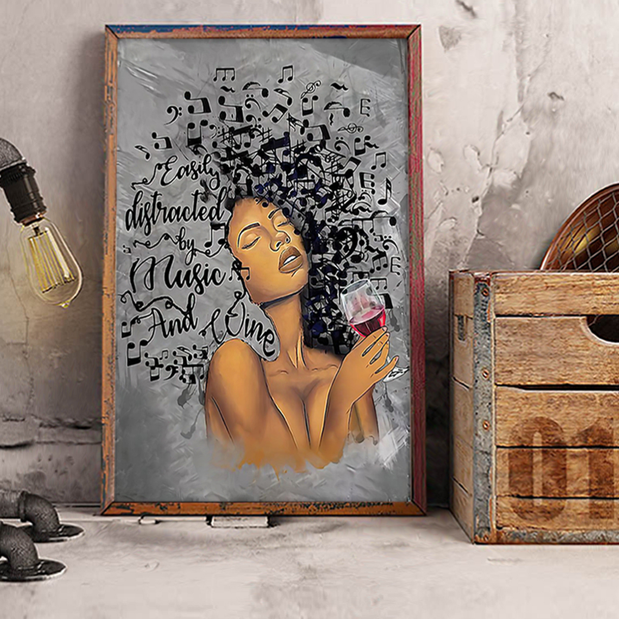 African american girl Lose your mind find your soul poster A2