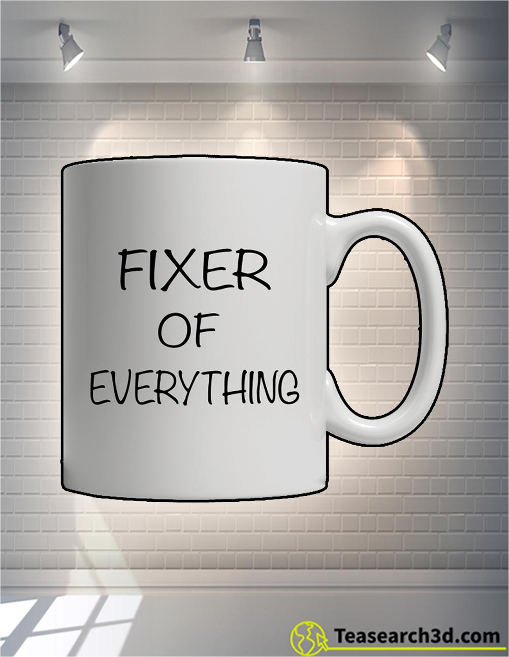 Fixer of everything mug back