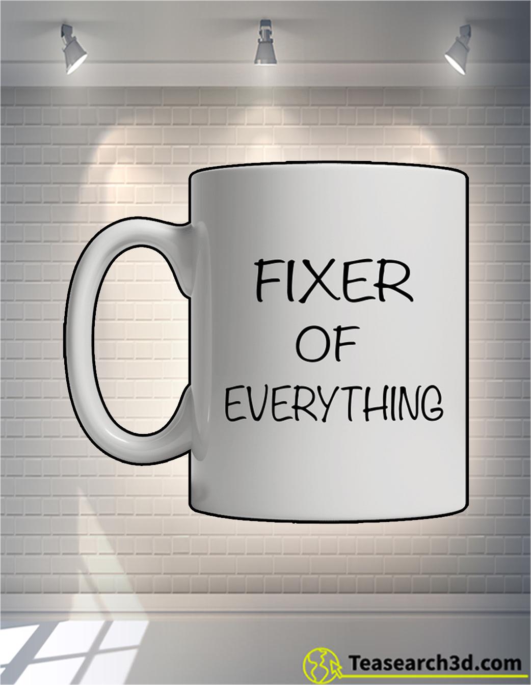 Fixer of everything mug front