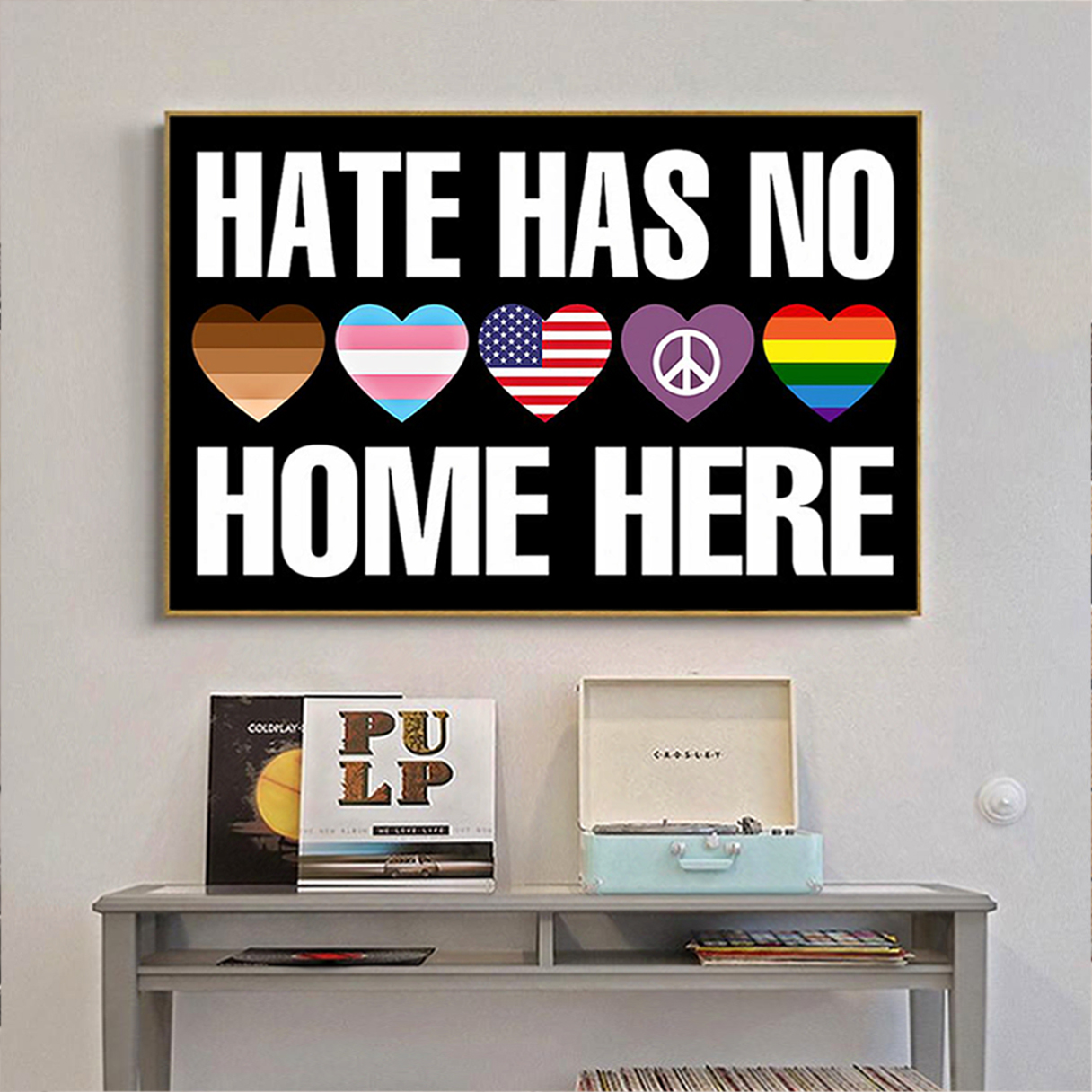 Hate has no home here poster A2