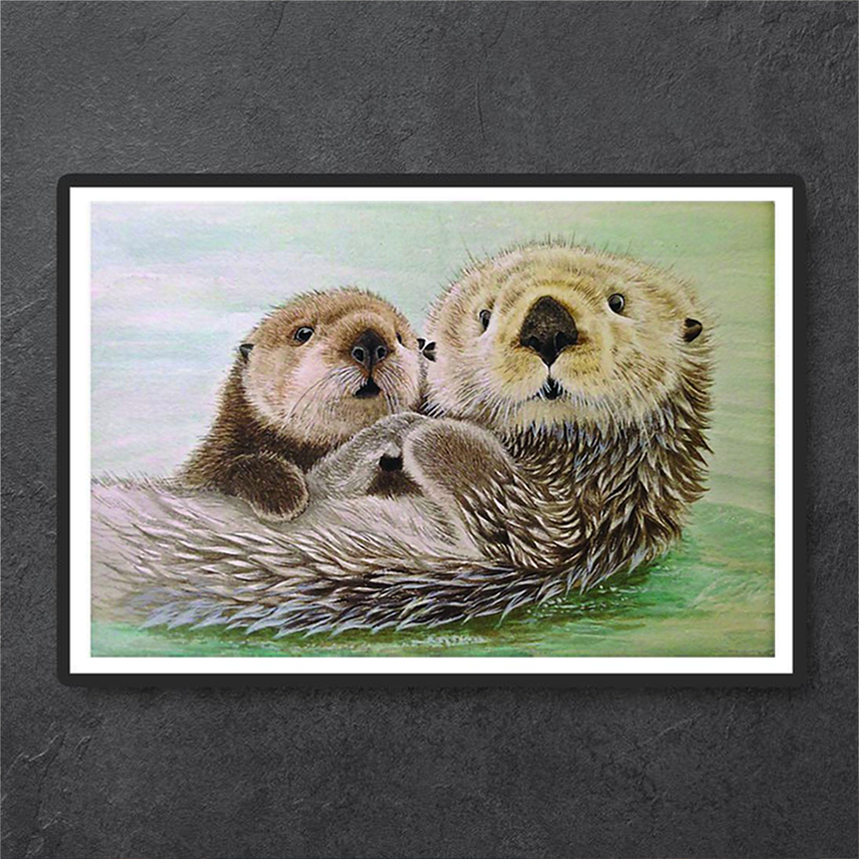 Otter poster and canvas prints small