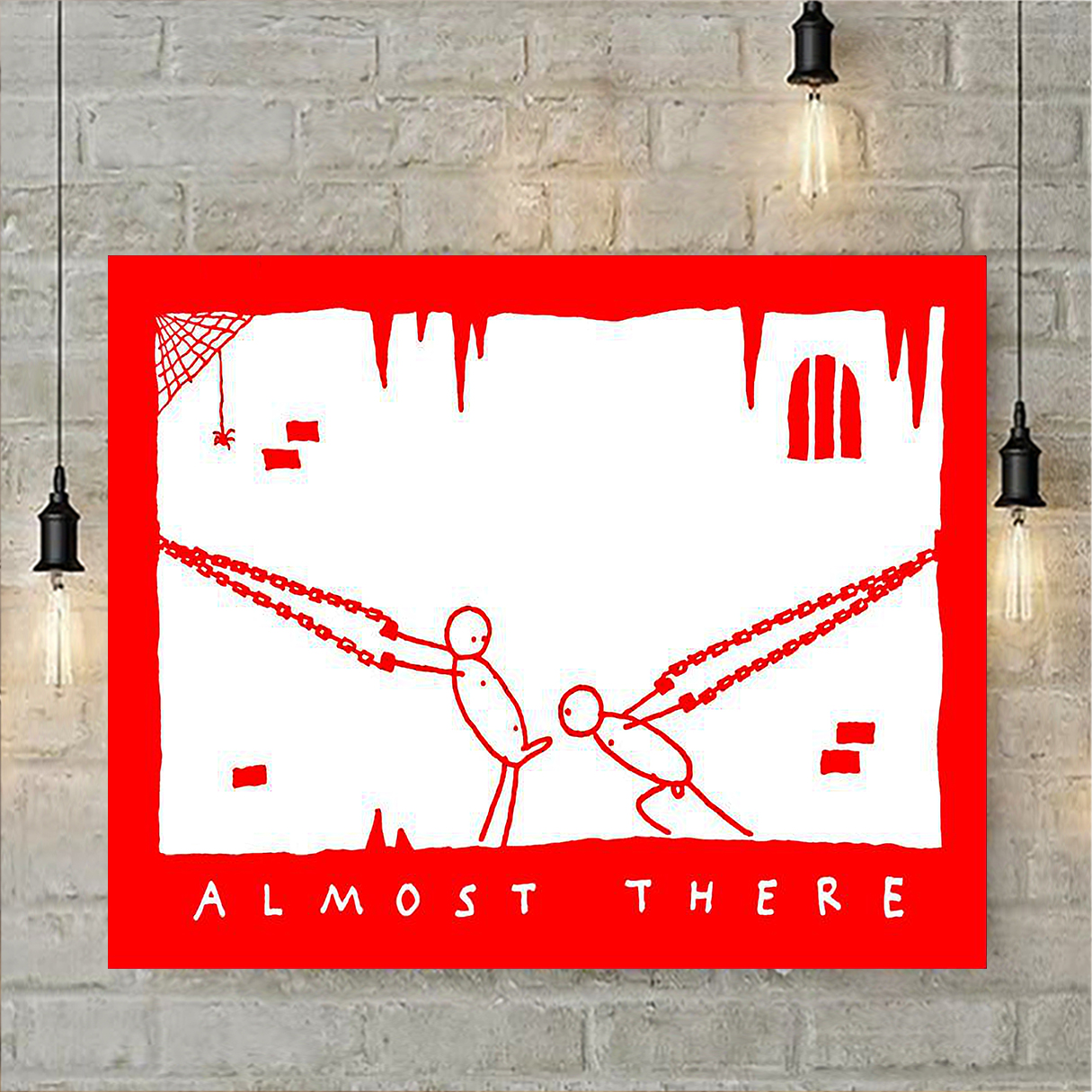 Almost there poster A1