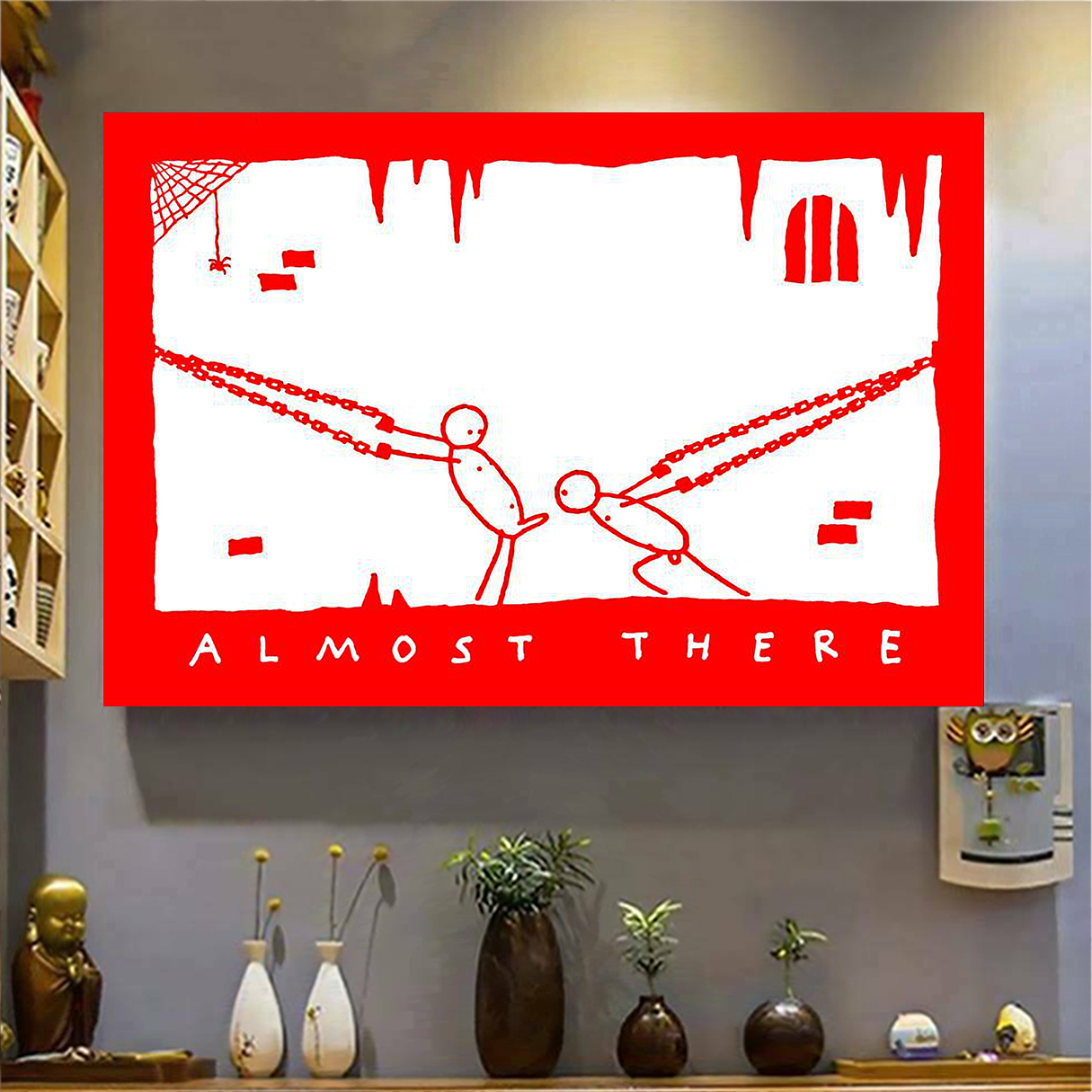 Almost there poster A2