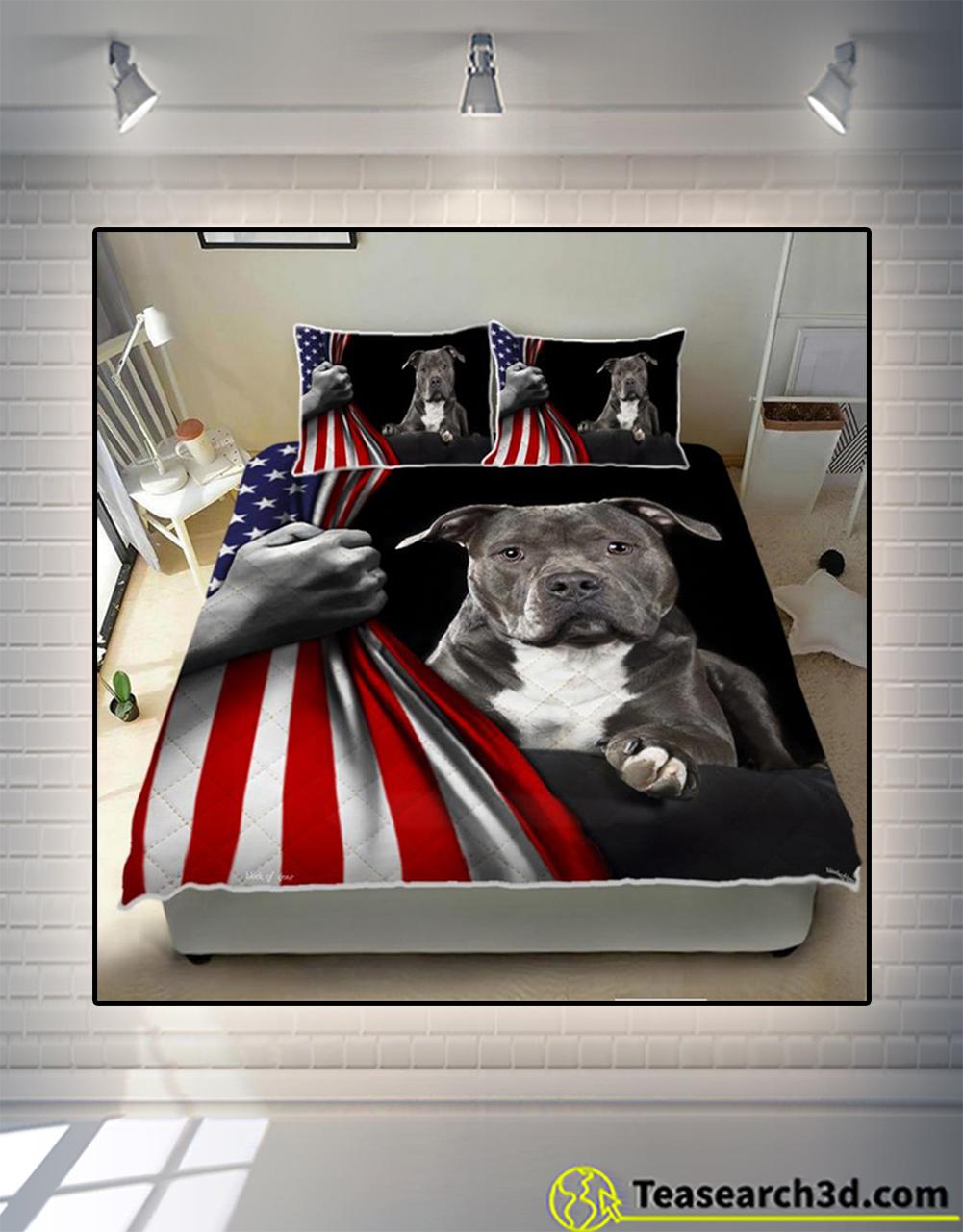 American Staffordshire Terrier bedding set