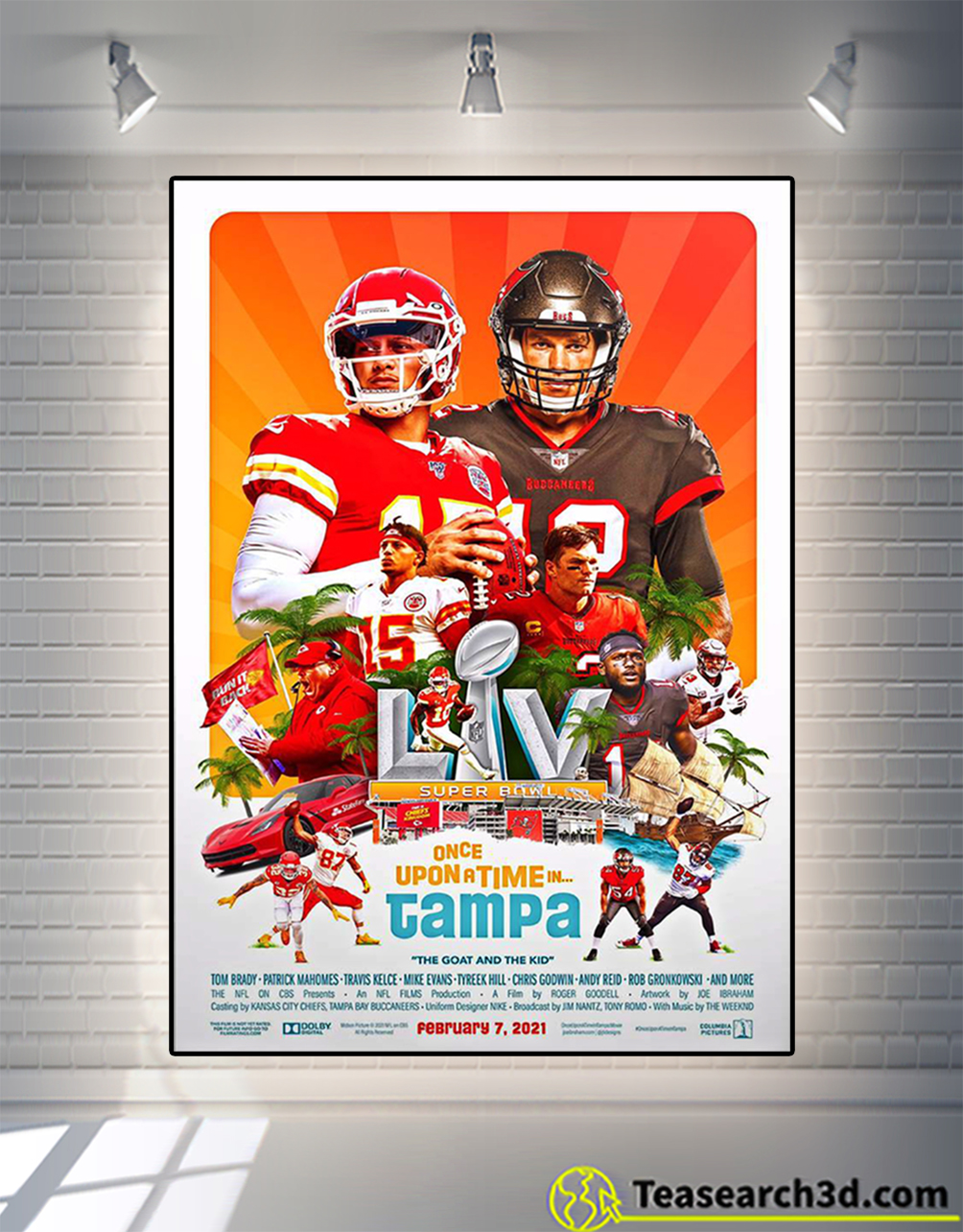 Once upon a time in tampa the goat and the kid poster