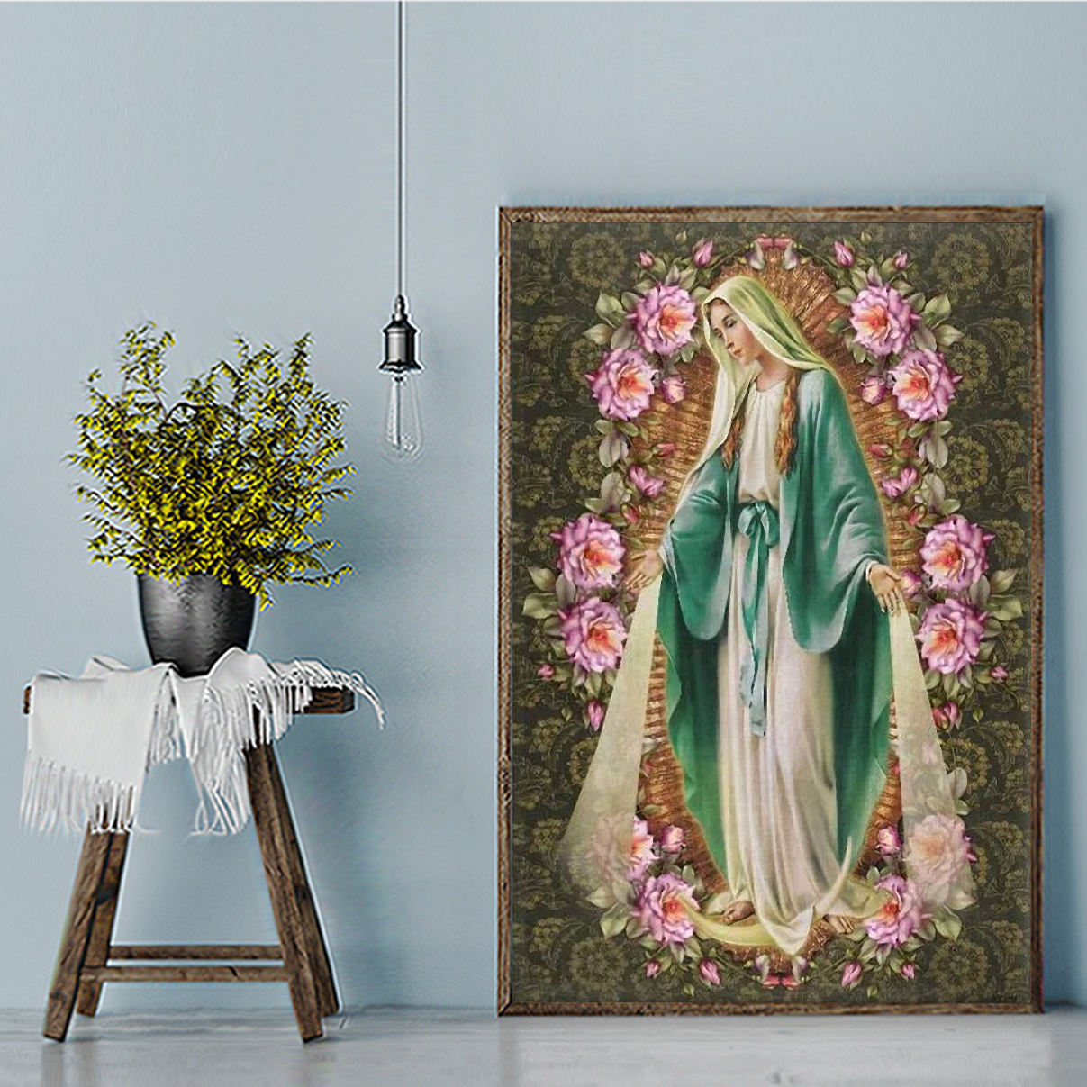 Our lady immaculate conception of mary canvas medium