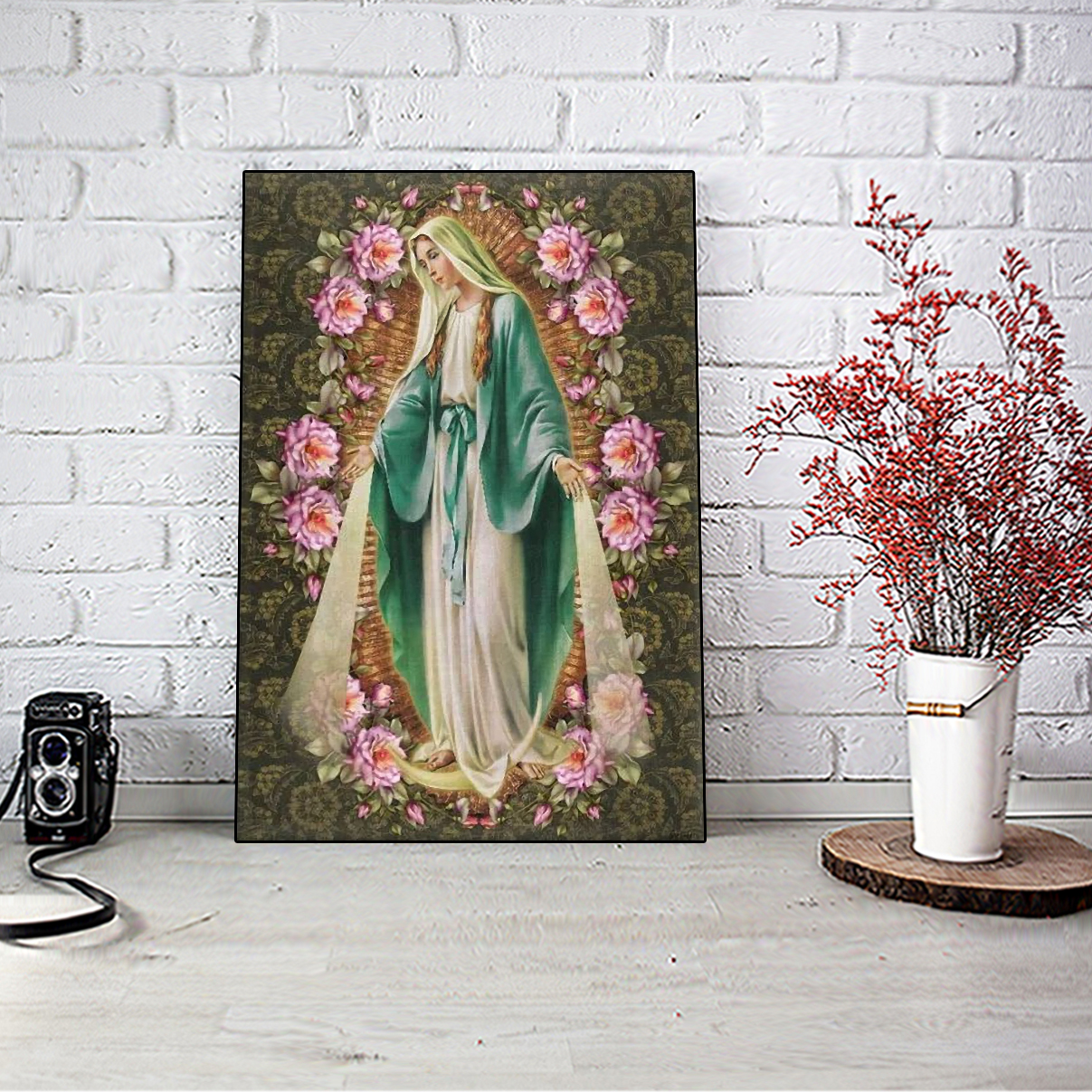 Our lady immaculate conception of mary canvas small