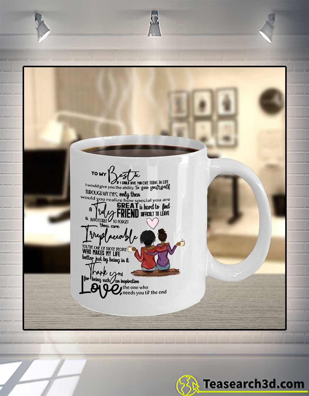 Black girl to my bestie mug 11oz