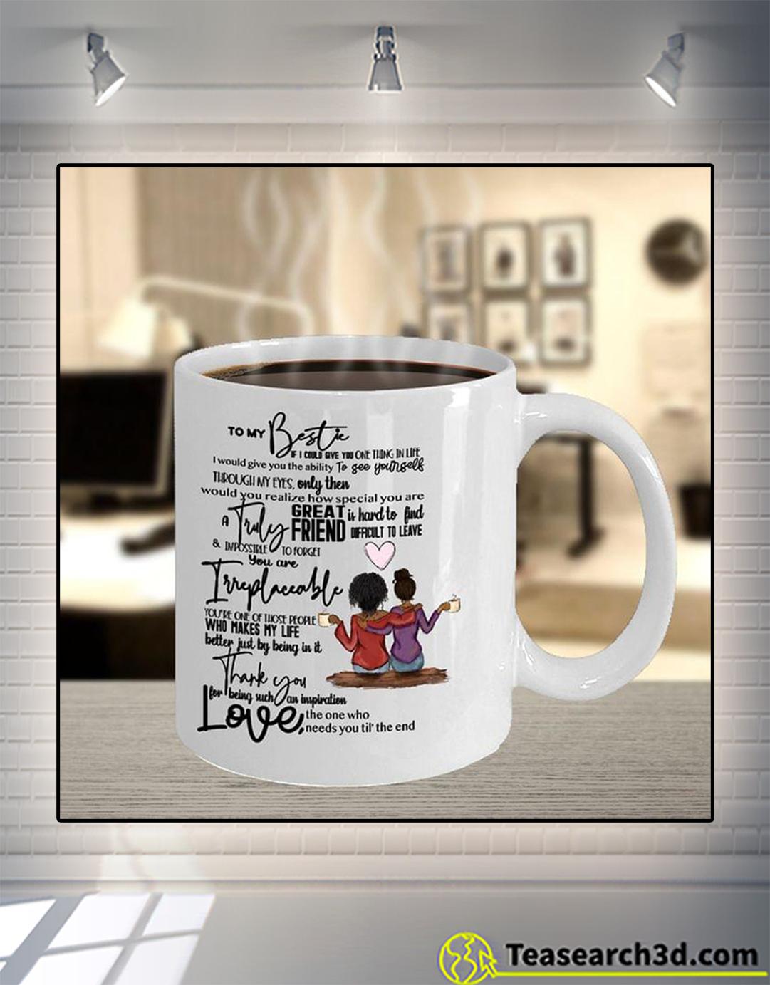 Black girl to my bestie mug 15oz