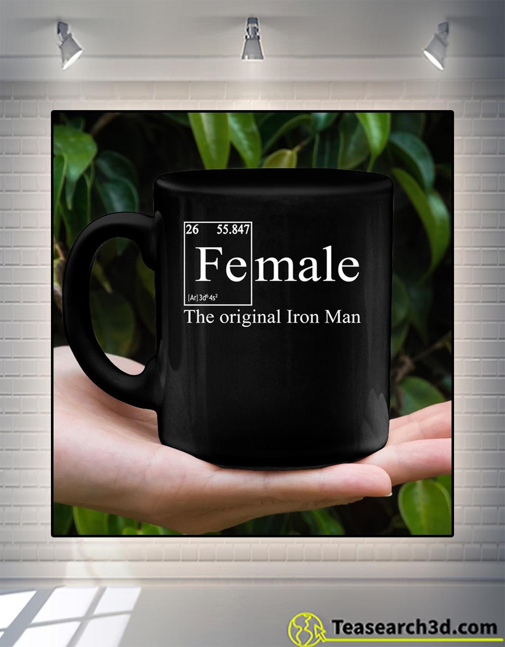 Female the original iron man mug 11oz