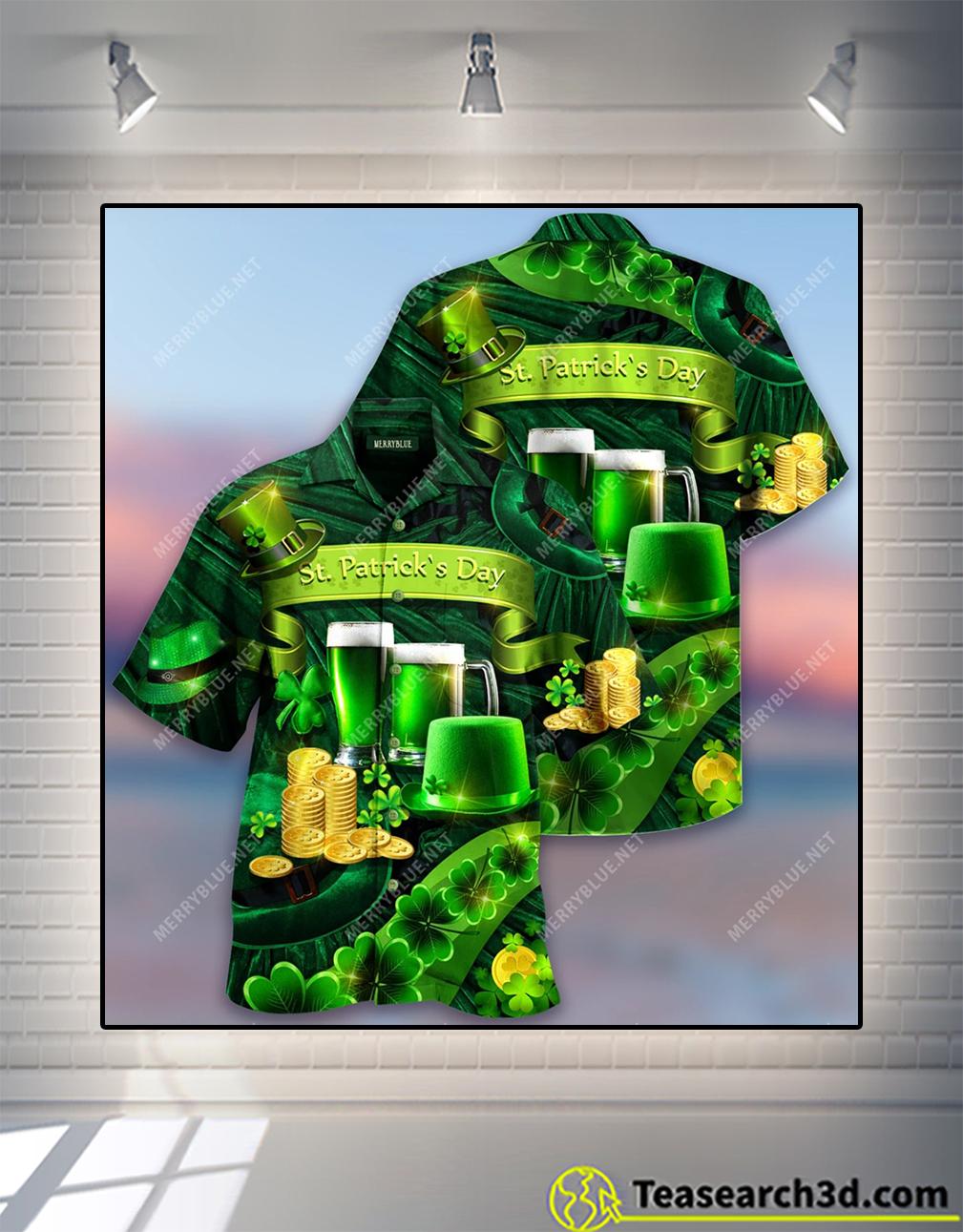 Happy saint patrick's day 17 March 2021 Unisex hawaiian shirt