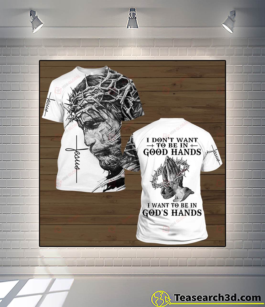 I don't want to be in good hands all over printed 3d shirt S