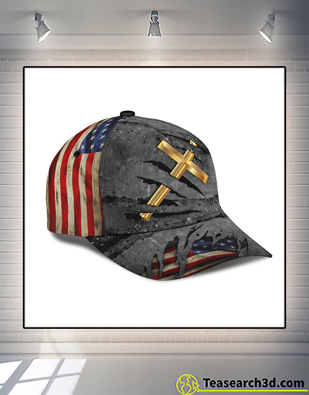 Jesus crack us flag classic cap 2